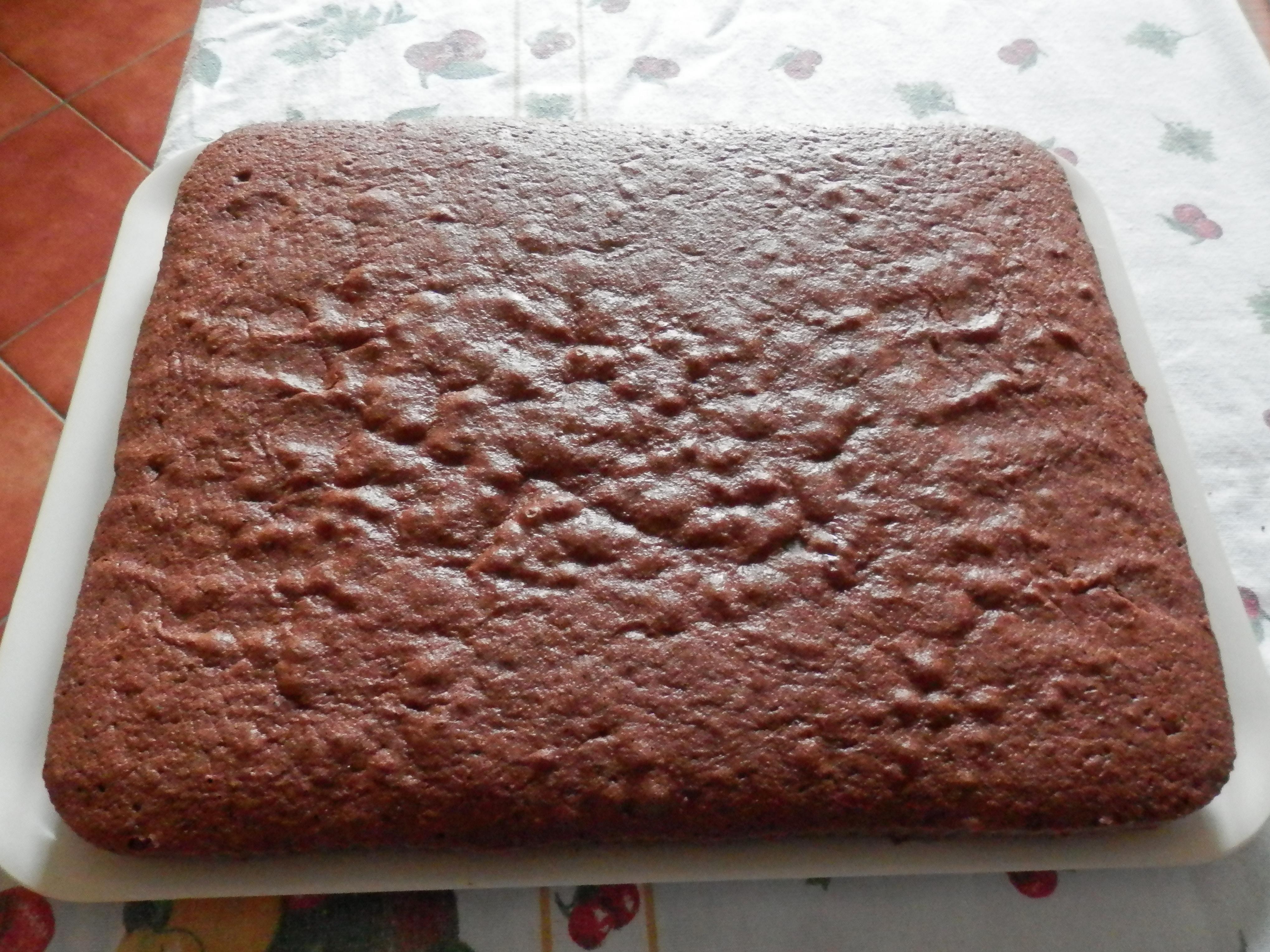 Ricetta Pan Di Spagna Soffice Cacao.Ricetta Pan Di Spagna Al Cacao Senza Lievito Dolcidee