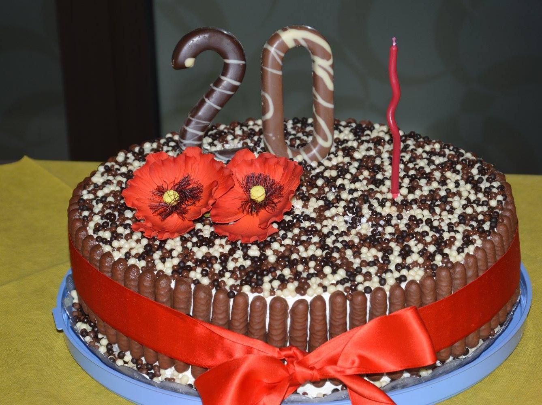 Ricetta Torta Di Compleanno Cioccolato E Panna Dolcidee